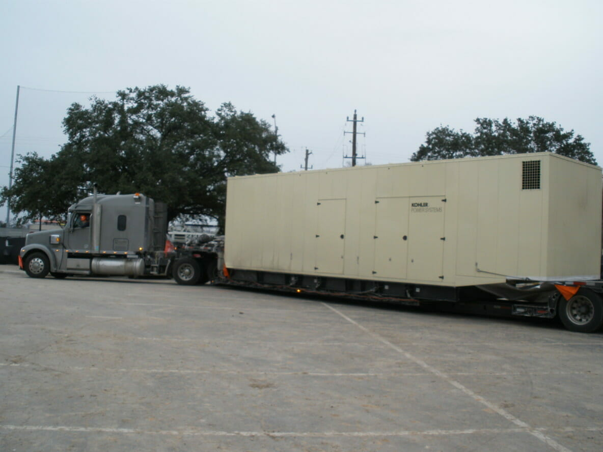 ZMac Load of the Month - Large Generator to Texas
