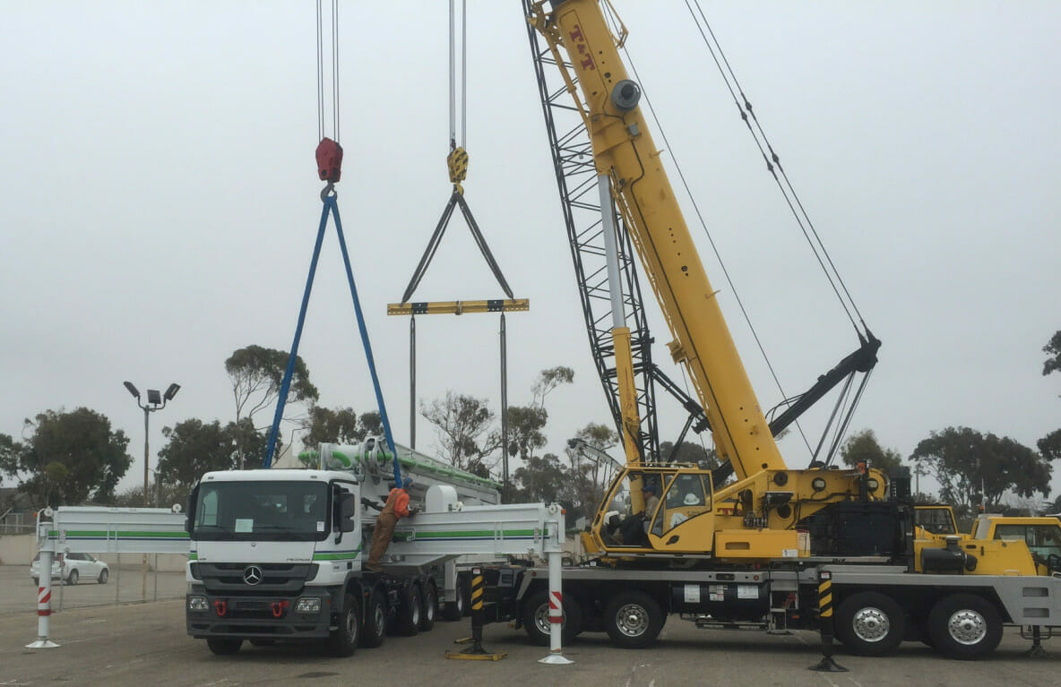 ZMac Load of the Month - Boom Crane to Nevada