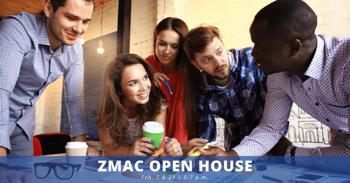 ZMac Open House Persona Image - Feb 7 & 21 5-7pm