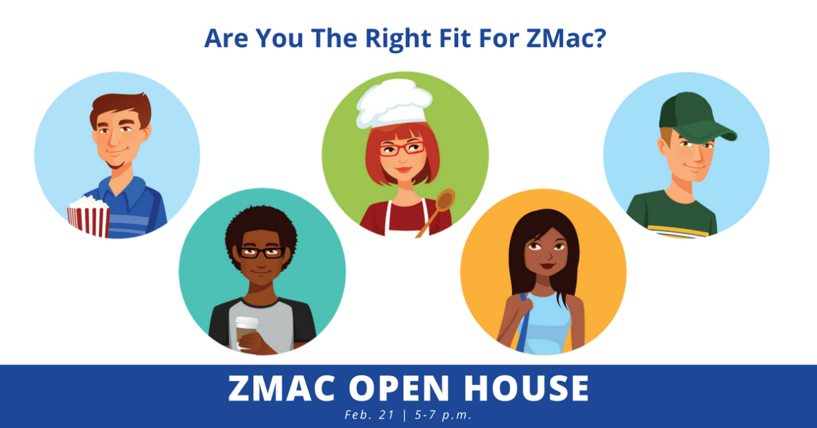 ZMac Open House Persona Image - Feb 21 5-7pm