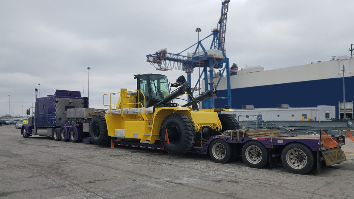 Load of the Month April 2018 - Forklift to Illinois
