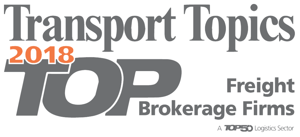 Transport Topics Top Freight Brokerage Firms 2018 Logo