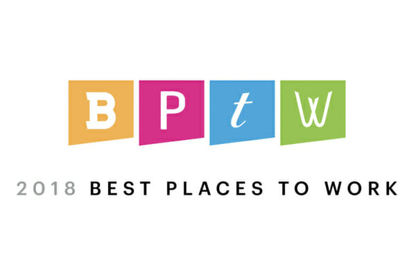 2018 Milwaukee Business Journal Best Places to Work